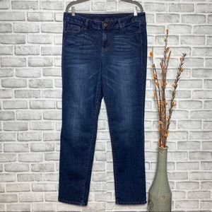 Lane Bryant Venezia dark washed straight leg Jeans